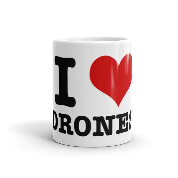 I Heart Drones Mug