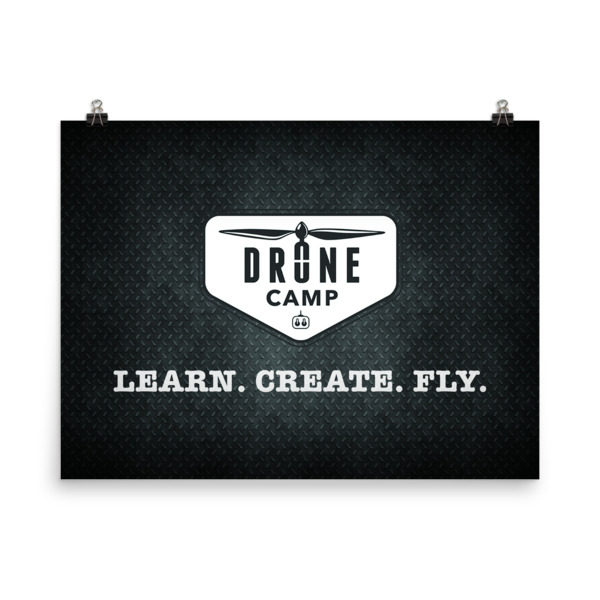Drone Camp Poster
